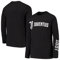 Juventus Youth For the Club Long Sleeve T-Shirt - Black