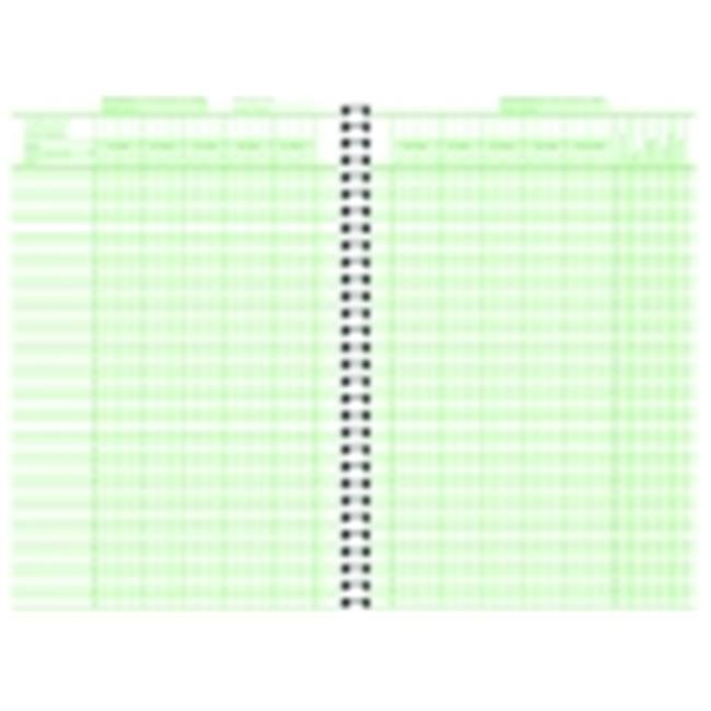 Hammond And Stephens 6.75 x 11 in. Class Record Book, Polyice Cover, 40 Students, Green by Hammond & Stephens