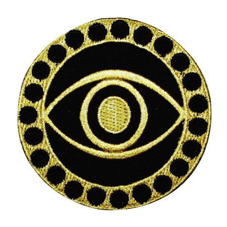 Doctor Strange Mystic Eye Logo Iron-On Patch Marvel Superhero Costume Applique (Marvel Super Hero Costumes)
