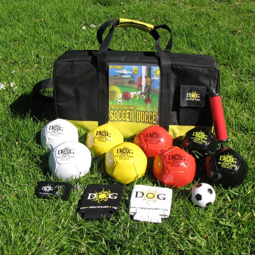 The Day of Games Soccer Bocce Set