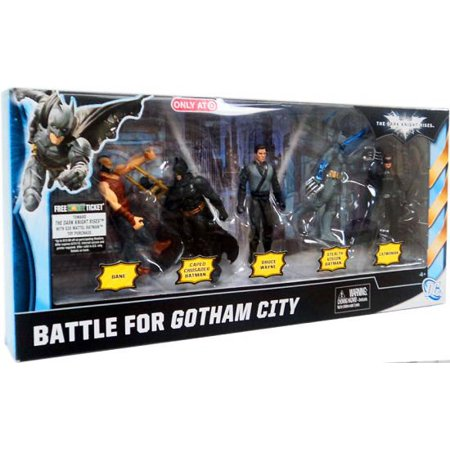 Batman The Dark Knight Rises Battle For Gotham City Action Figure 5-Pack
