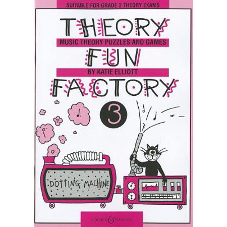 Theory Fun Factory 3 : Music Theory Puzzles and Games - Halloween Music Theory Games