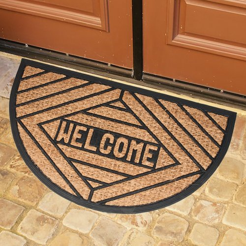 Sweet Home Collection Welcome Doormat