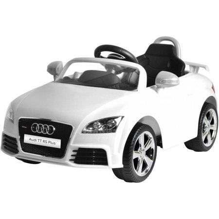 V Audi TT RS BatteryPowered RideOn Walmartcom - Audi 6v car