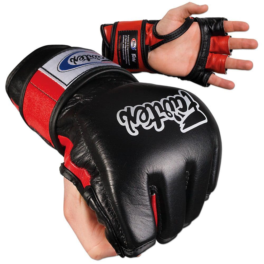 Fairtex Ultimate Combat MMA Gloves Open Thumb