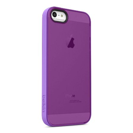 Belkin Grip Candy Sheer Case, Cover for Apple iPhone 5, 5S