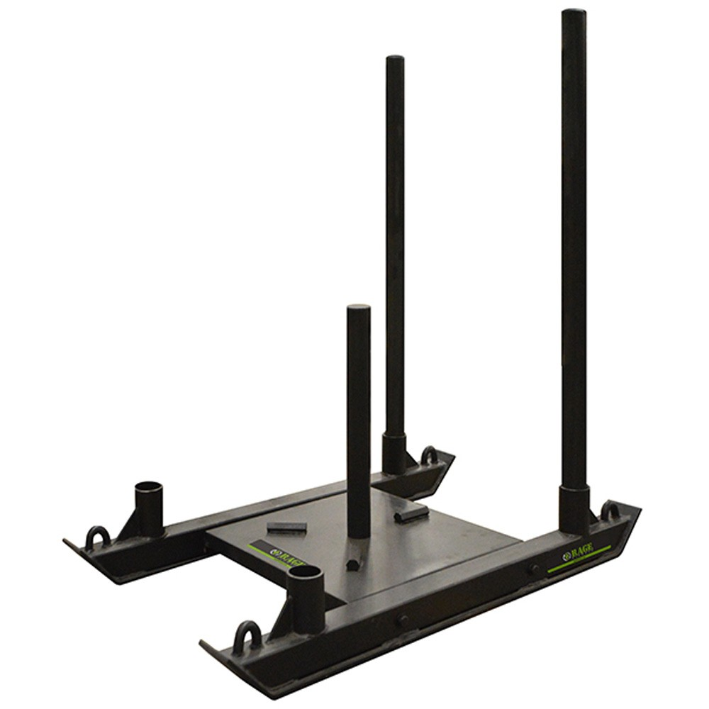 Rage Fitness R2 Push Sled with Shoulder Straps
