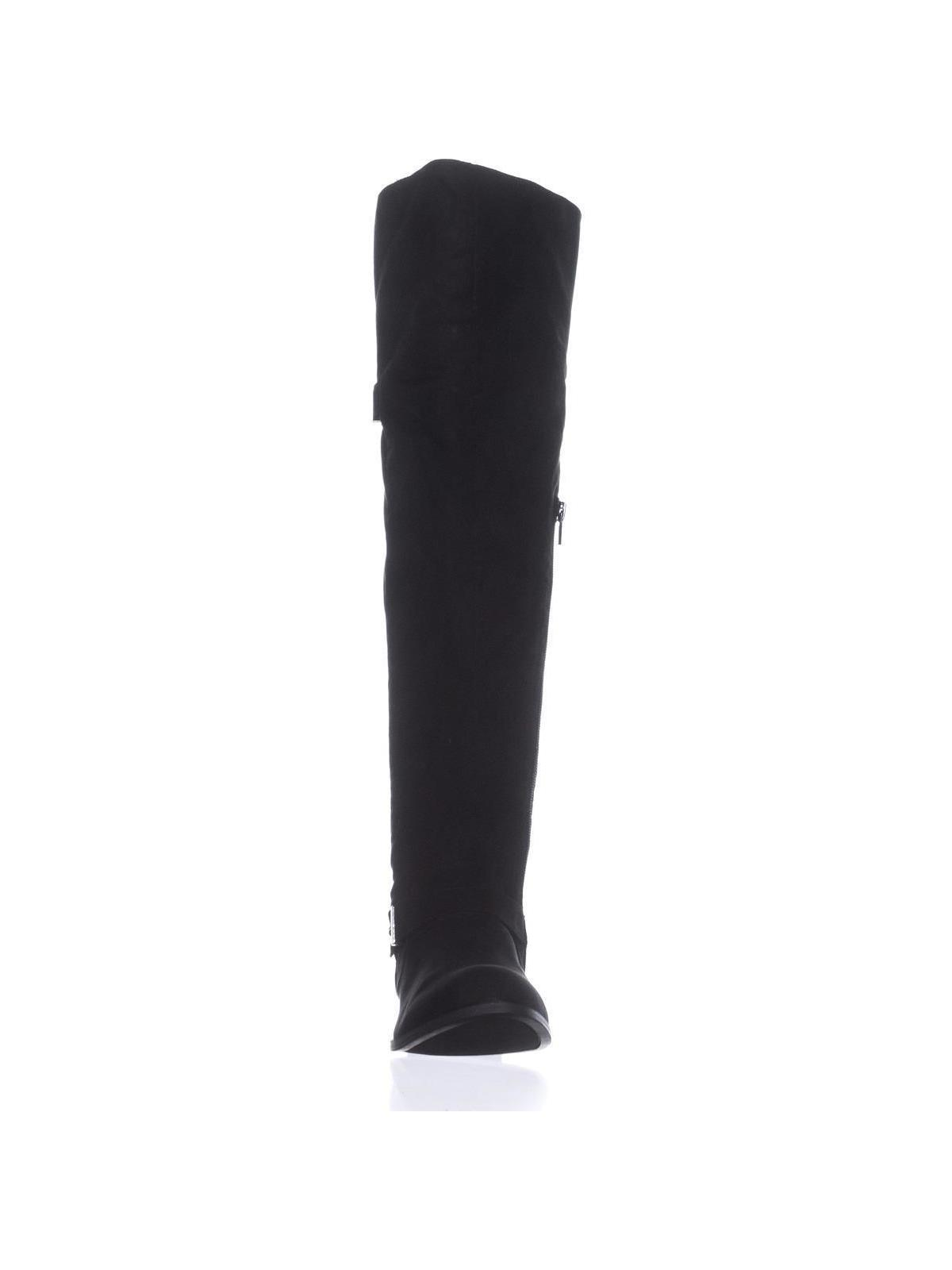 db65f521a0e B35 Daphne Over The Knee Riding Boots
