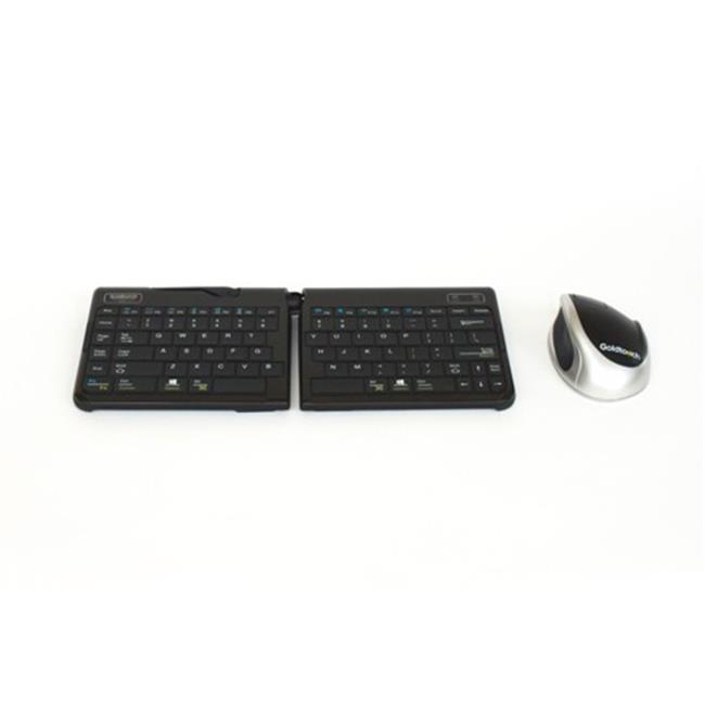 Goldtouch GTMB-0044W Go 2 Mobile Keyboard And Bluetooth C...