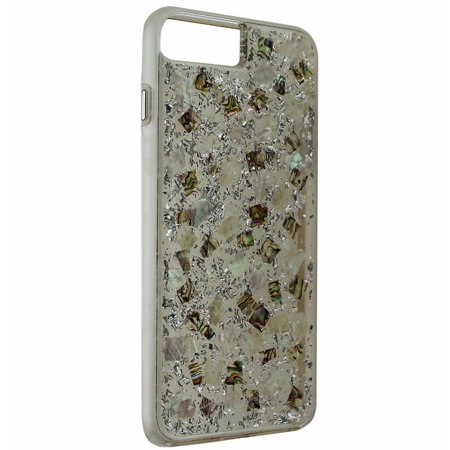 Case-Mate Karat Pearl Case Cover Apple iPhone 7 6s 6 Plus - Clear / Silver Flake