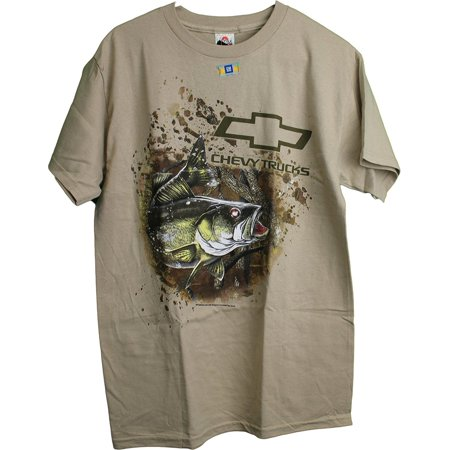 True Timber Camo Chevrolet Chevy Trucks Bass Fishing Adult Men  39 S T Shirt