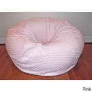 Ahh Products Cuddle Bubble 36-inch Minky Soft Bean Bag Chair