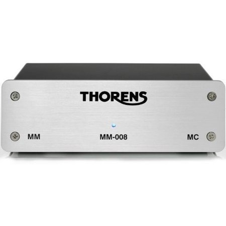 Thorens Phono Stage - Mm008 Silver (Best Integrated Amp With Phono Stage)