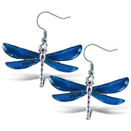 Dragonfly Post Earring (Aqua Jewelry  - Earrings - Dangle Post - Fish Hook - Dragonfly )