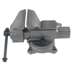 Craftsman Bench Vise 5 in. 180-degree Swivel V-groove Hardy Machined Anvil Top Garage Tool 51855