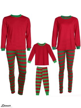 11c783125 Product Image Spencer 2Pcs Family Christmas Pajamas Set Striped Long Sleeve  Pants Nightwear Sleepwear Set for Dad Mom