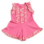 Baby Girls Raspberry Ruffle Shorts Magnolia Summer Bodysuit 3M-24M