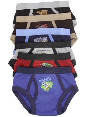 ToBeInStyle Boy's Pack of 6 Briefs