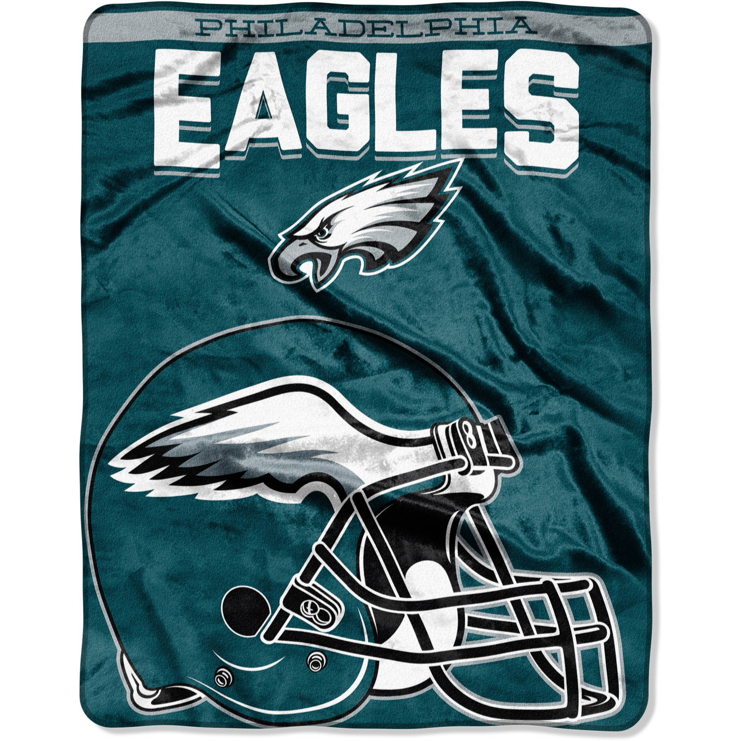 "NFL Philadelphia Eagles ""Drawback"" 55"" x 70"" Silk Touch Throw"