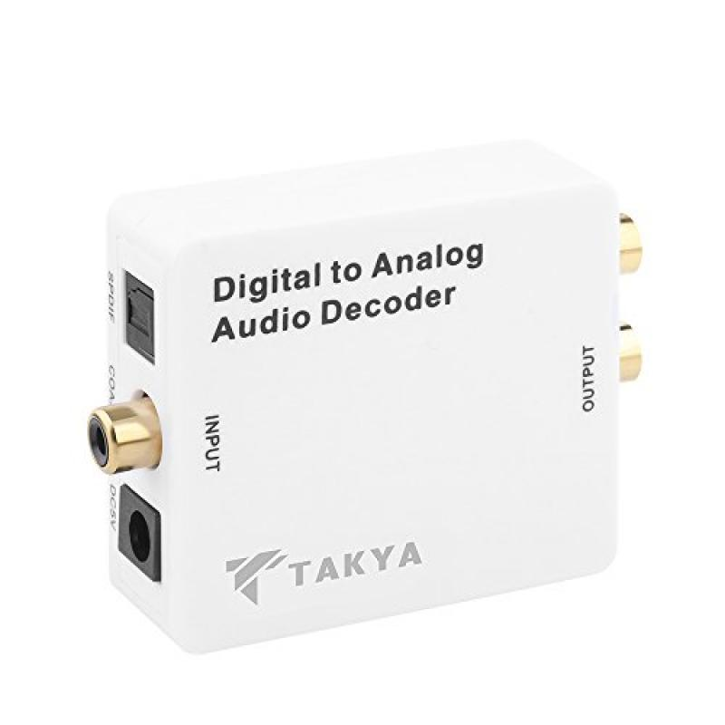 Takya Optical SPDIF Toslink / Coaxial;Digital to Analog A...