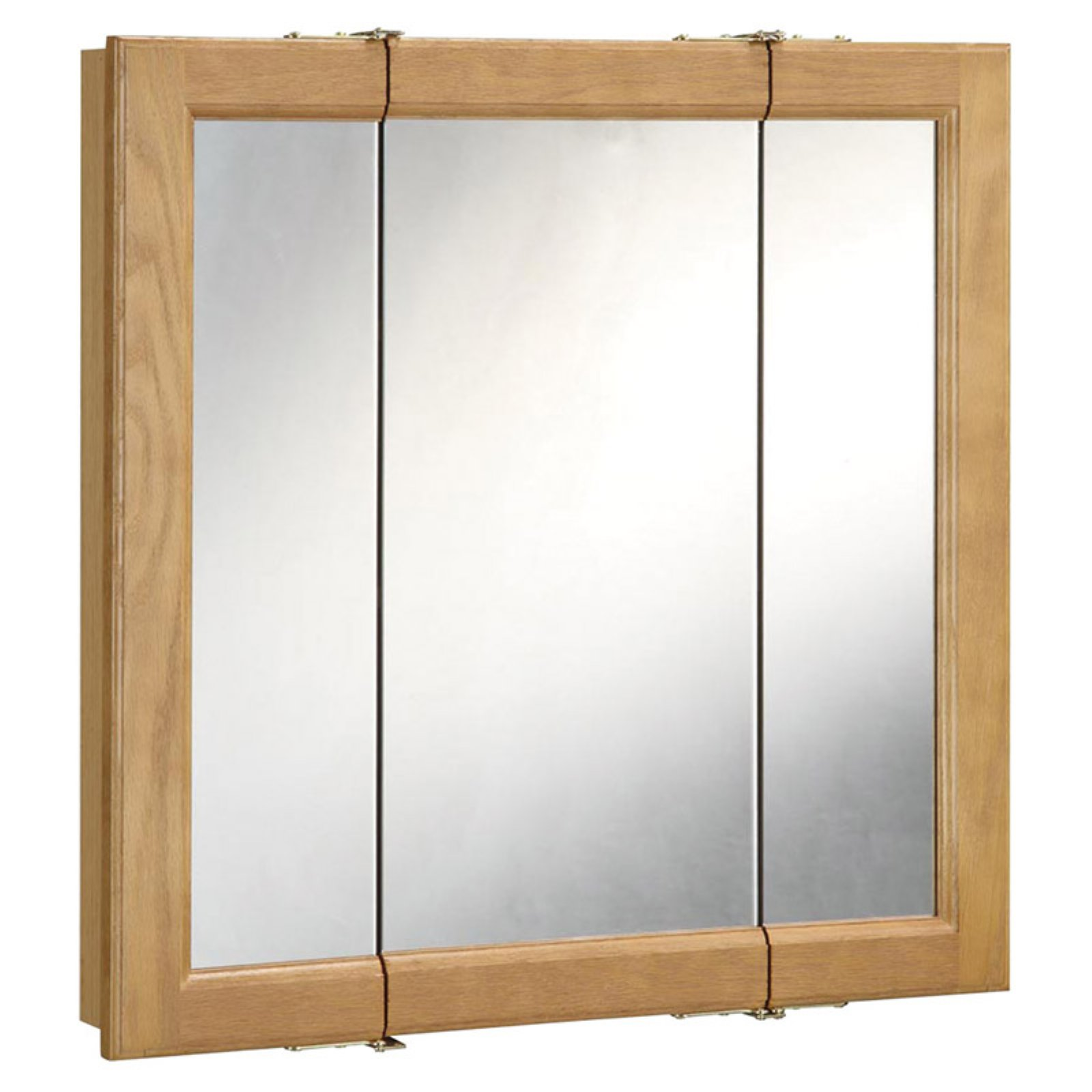 Design House Richland Tri-View Medicine Cabinet Mirror with 3-Doors by Generic