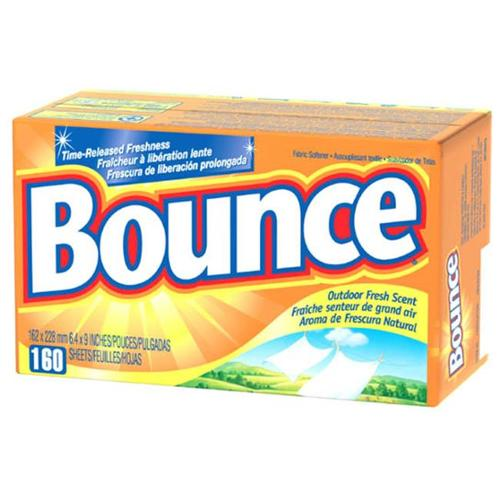 Procter & Gamble 80168 160 Count Bounce Fabric Softener Sheets