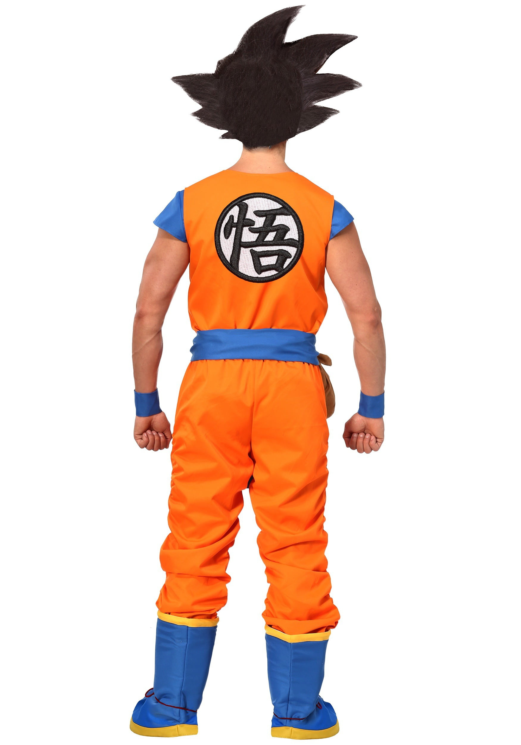 34be02f193a Dragon Ball Z Authentic Goku Men s Costume - image 1 of 3 zoomed image