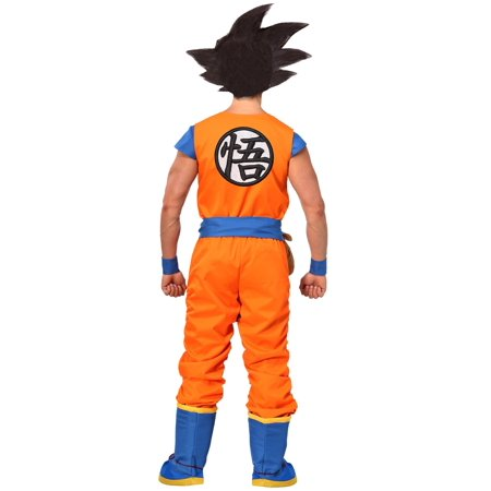 87f1d41edf8 Dragon Ball Z Authentic Goku Men s Costume - image 1 ...