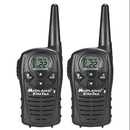 Midland LXT118 Gmrs 2-way Radio 22 Channels Perp Up To 18 Miles Pair by
