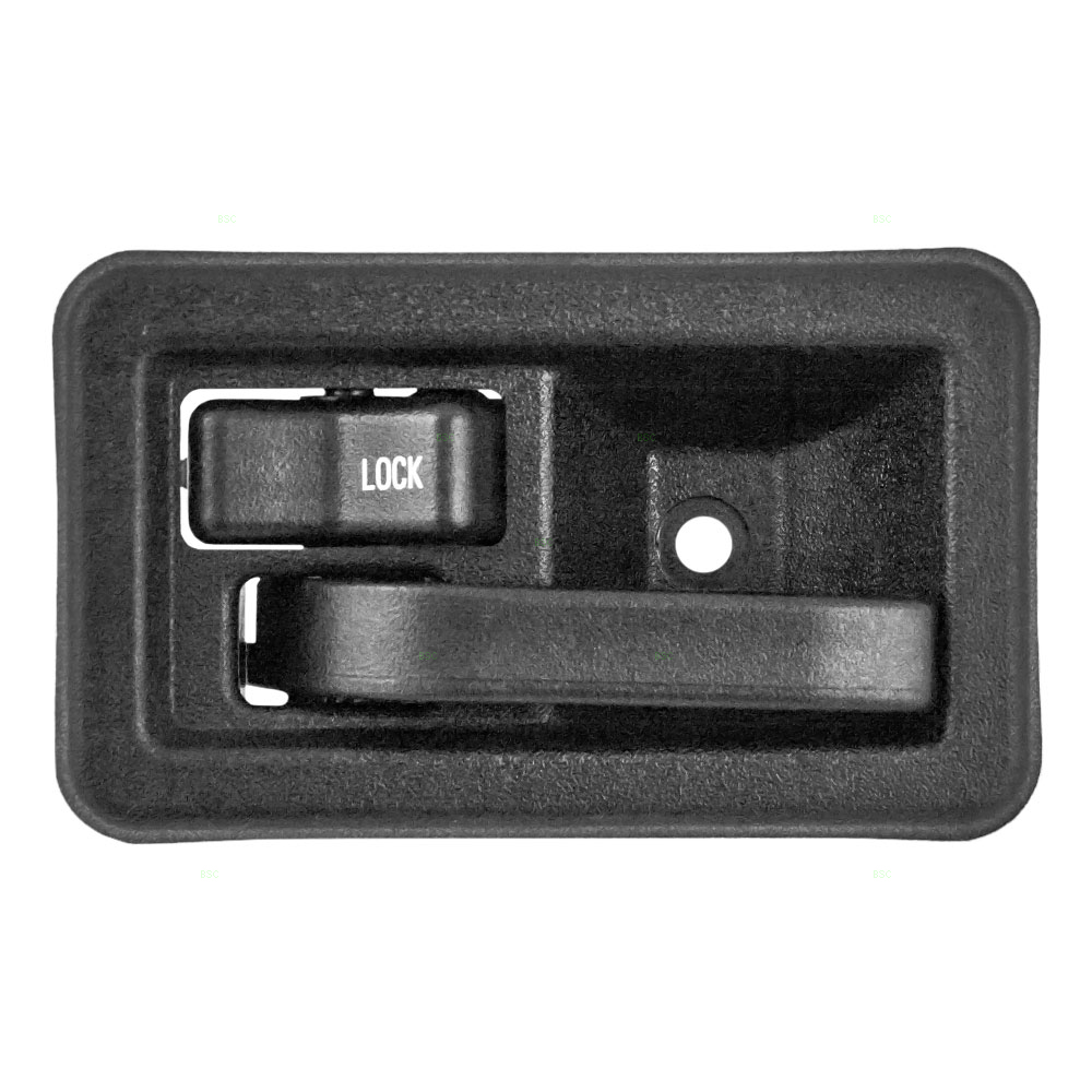 Drivers Inside Inner Interior Door Handle Textured Replacement for Jeep SUV 55176477AB