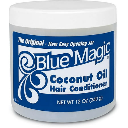 blue magic coconut oil hair conditioner 12 oz pack of 6. Black Bedroom Furniture Sets. Home Design Ideas