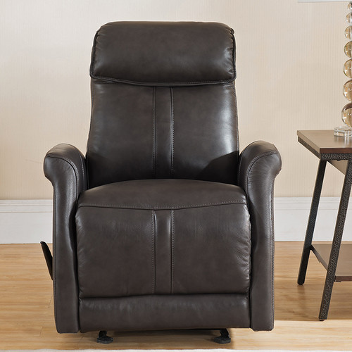 Amax Mosby Leather Manual Recliner