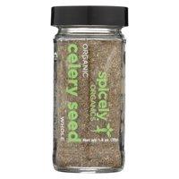 (Price/case)Spicely Organics - Organic Celery Seeds - Case of 3 - 1.4 oz.