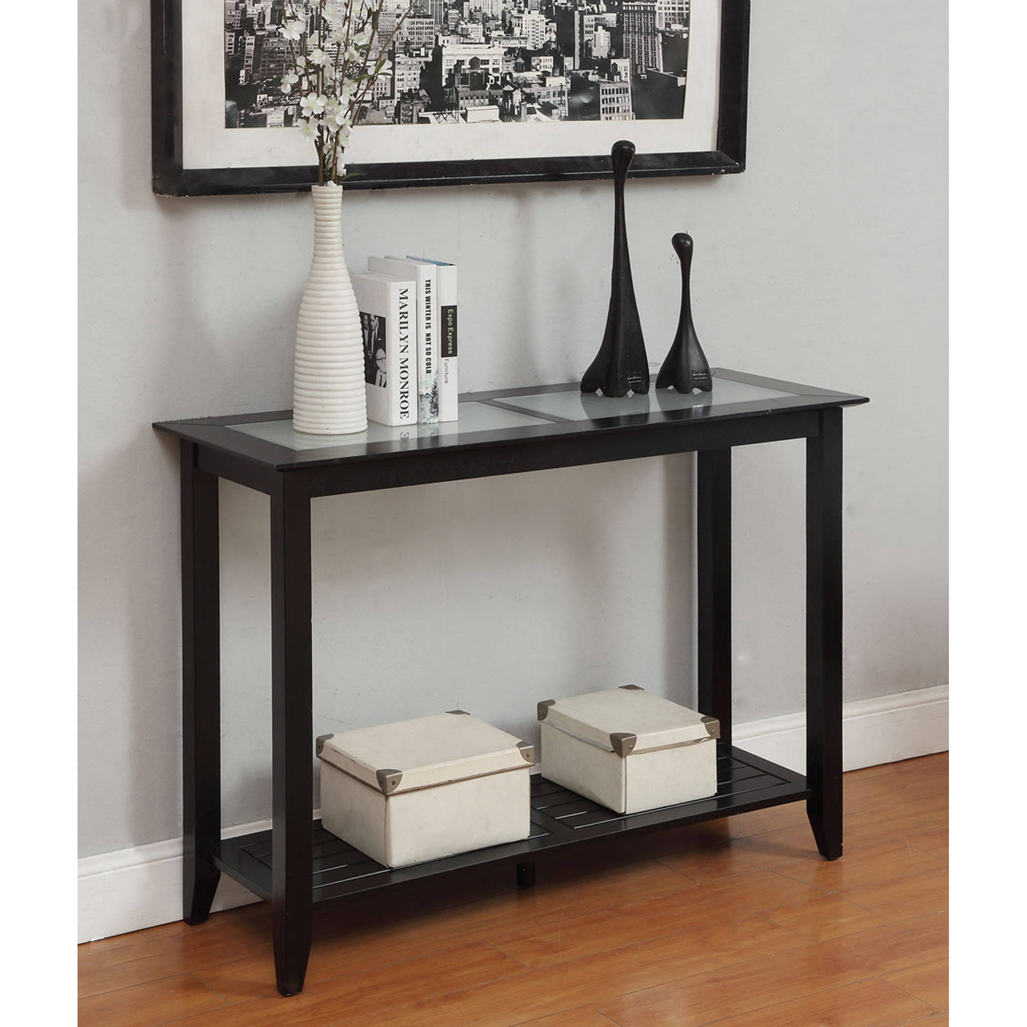 Convenience Concepts Carmel Console Table, Multiple Colors