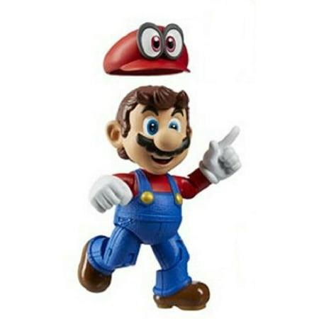 Action Figure Toy - World Of Nintendo - Mario - 4 Inch - Wave 13 (World Of Nintendo Mario Toys)