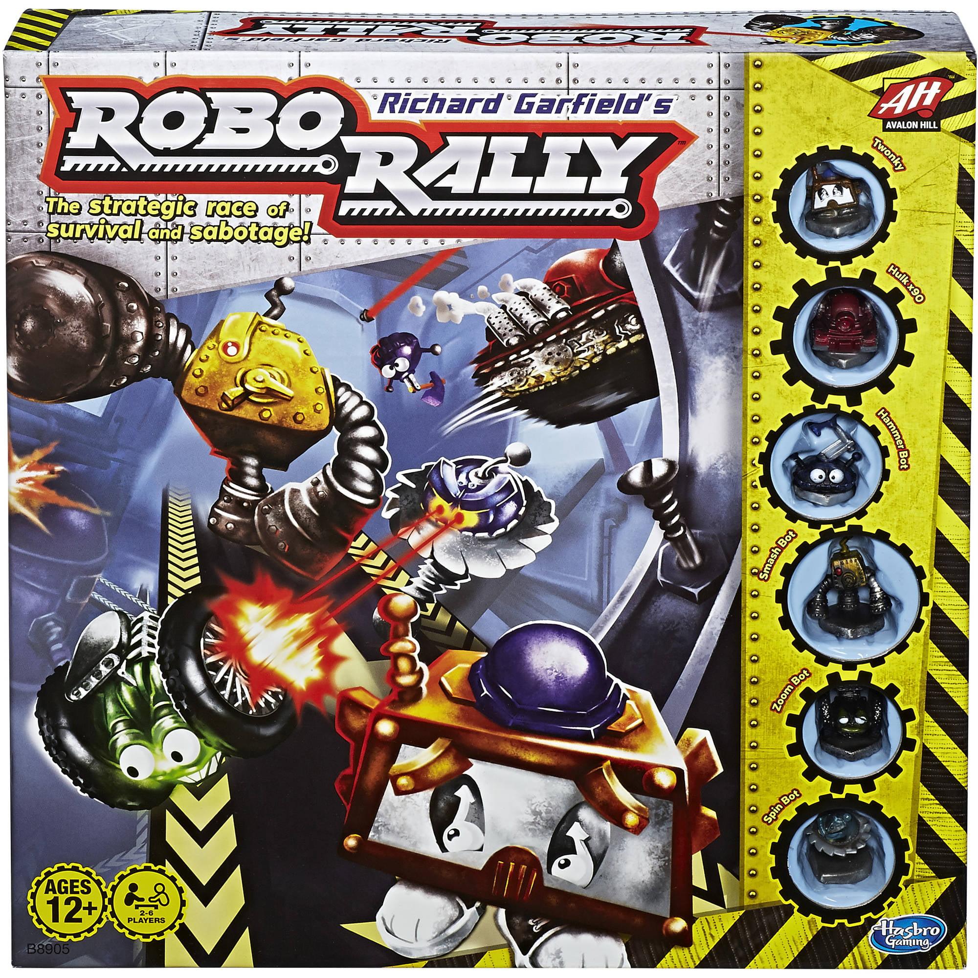 Richard Garfield's Robo Rally Avalon Hill Game by Hasbro, Inc