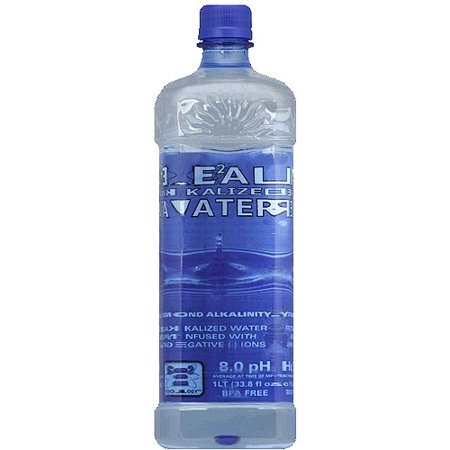 Real Water Alkalized Water  1 L   Pack Of 12