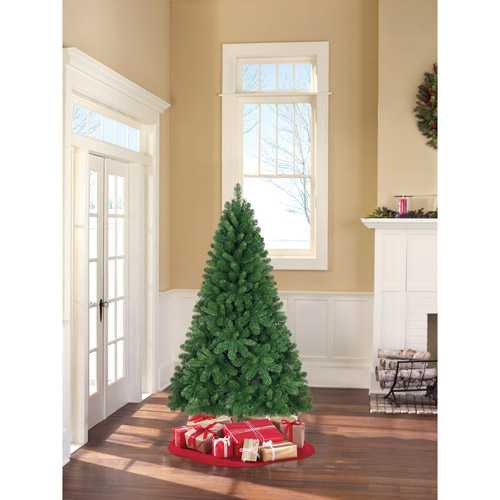 Holiday Time Unlit 6.5' Jackson Spruce Artificial Christmas Tree
