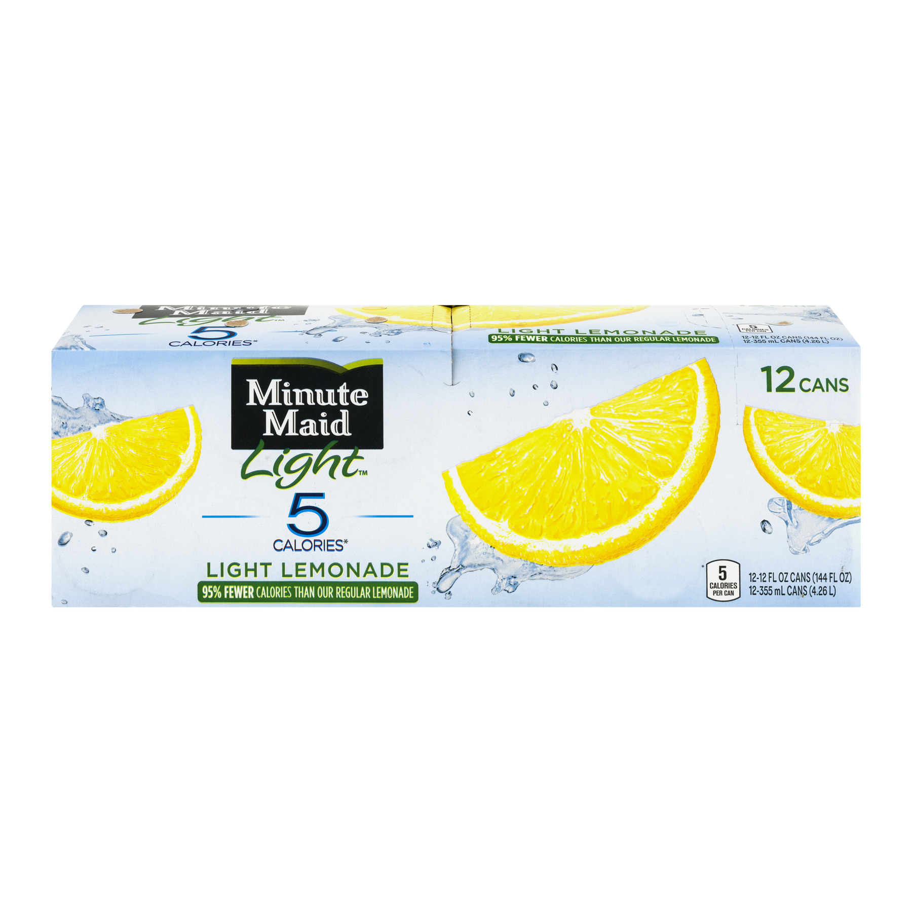 Minute Maid Light Lemonade, 12 Ct   Walmart.com