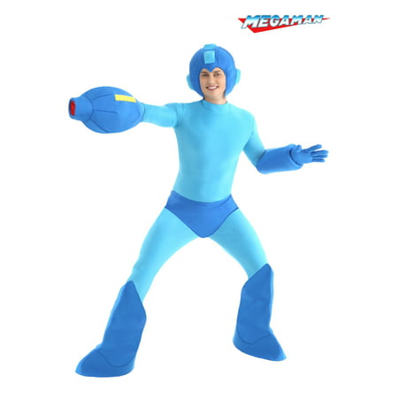 Adult Mega Man Costume](Navy Costume Male)