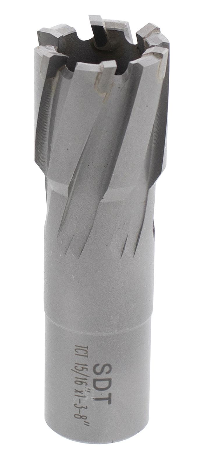 "Steel Dragon Tools® 15//16/"" x 1-3//8/"" Carbide Tip Annular Cutter 3//4/"" Weldon"