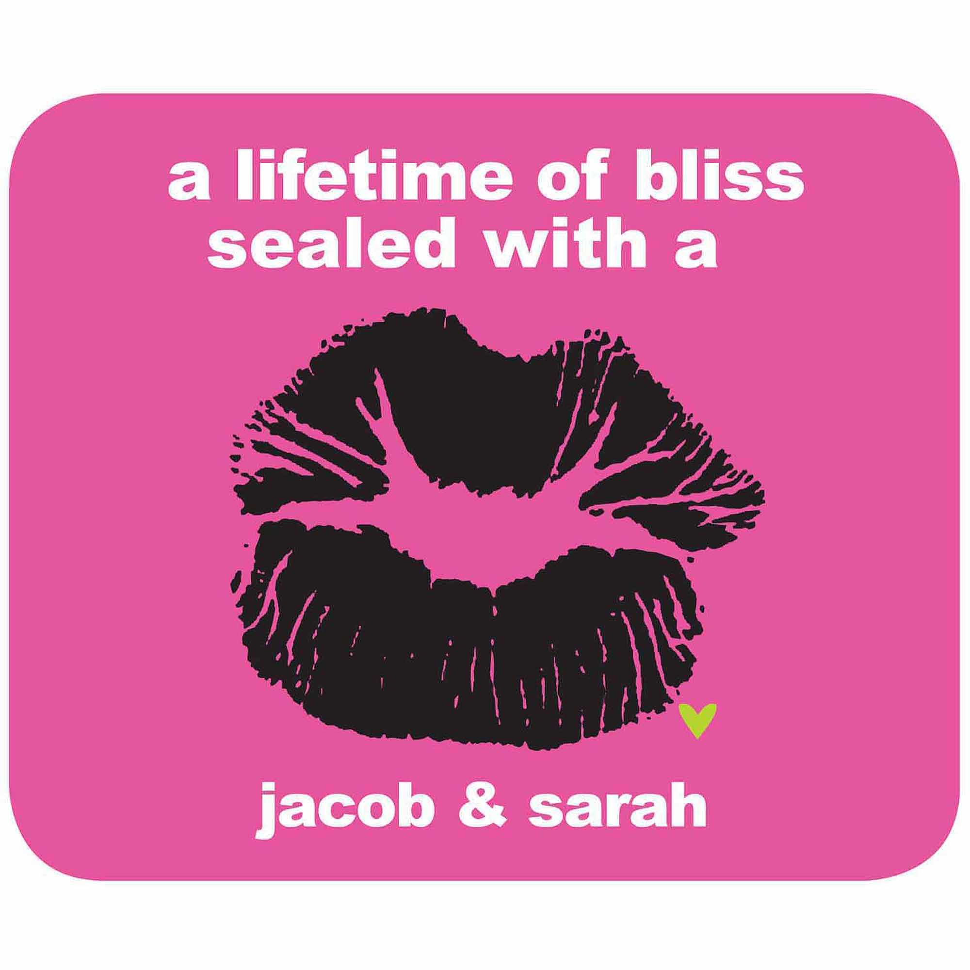 A Lifetime of Bliss Personalized Mouse Pad
