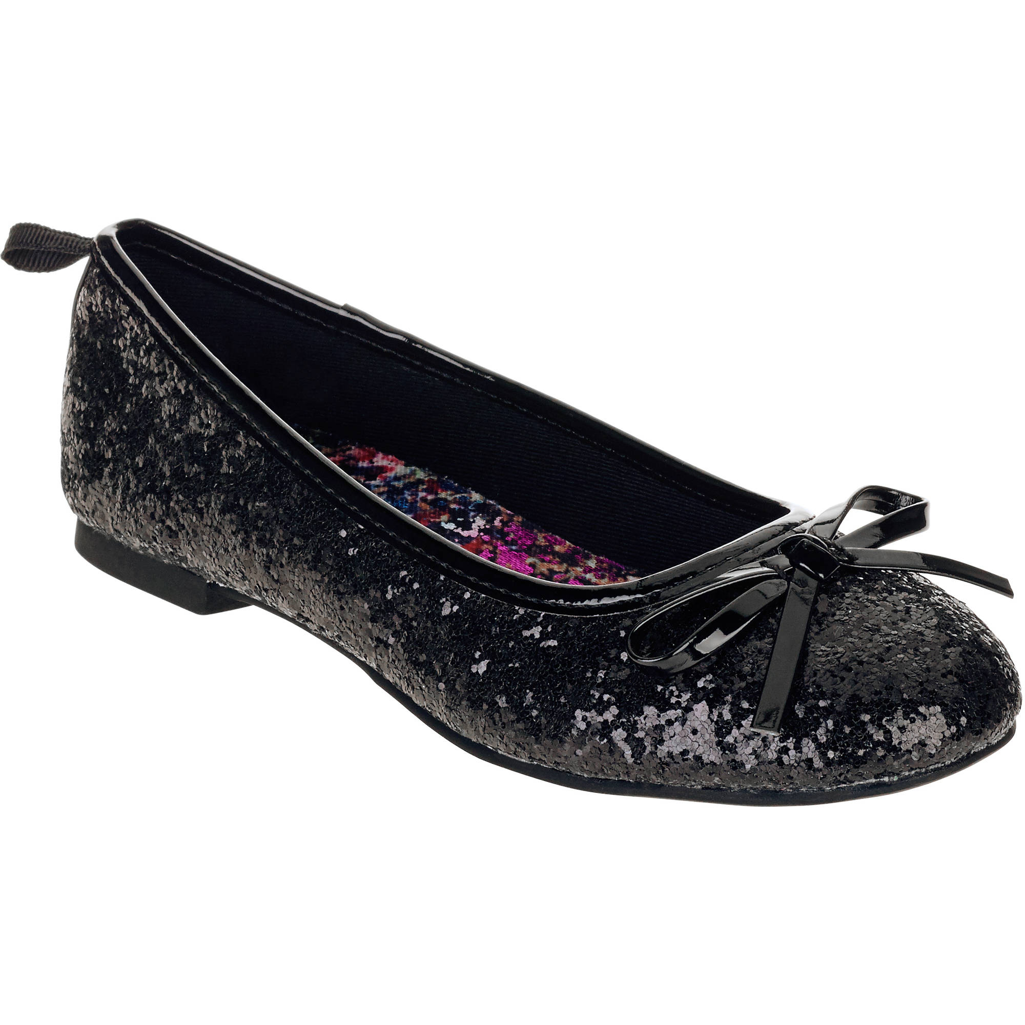 Faded Glory Girls' Casual Dazzle Flat by JU HUI FOOTWEAR CO.,LTD