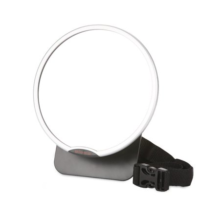 Diono Easy-View Back Seat Mirror to View Rear-Facing Children, Silver