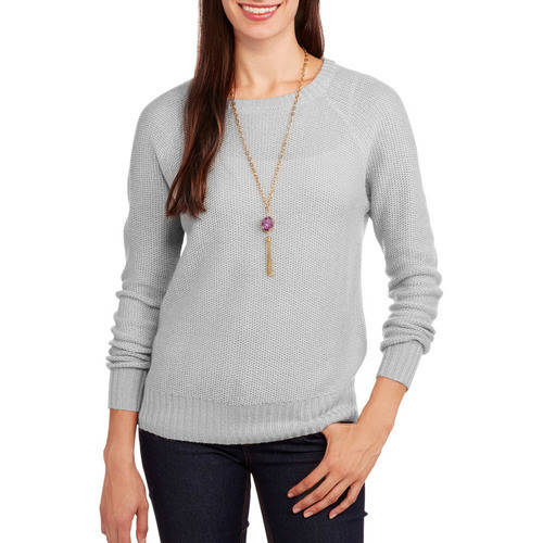 Concepts Women's Zip Back Sweater
