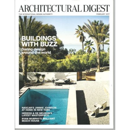 Architectural digest february 2017 nascar 39 s jimmie johnson - Architectural digest home show 2017 ...