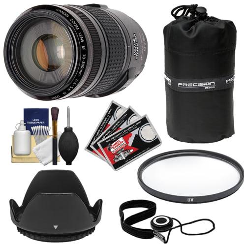 Canon EF 70-300mm f/4-5.6 IS USM Zoom Lens + Hoya UV Filt...