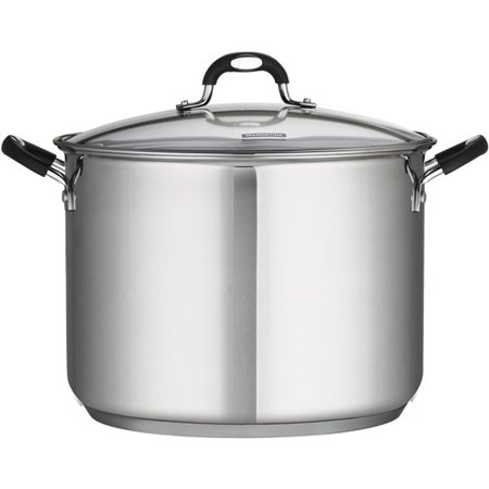 Tramontina 16 Quart Stainless Steel Covered Stock