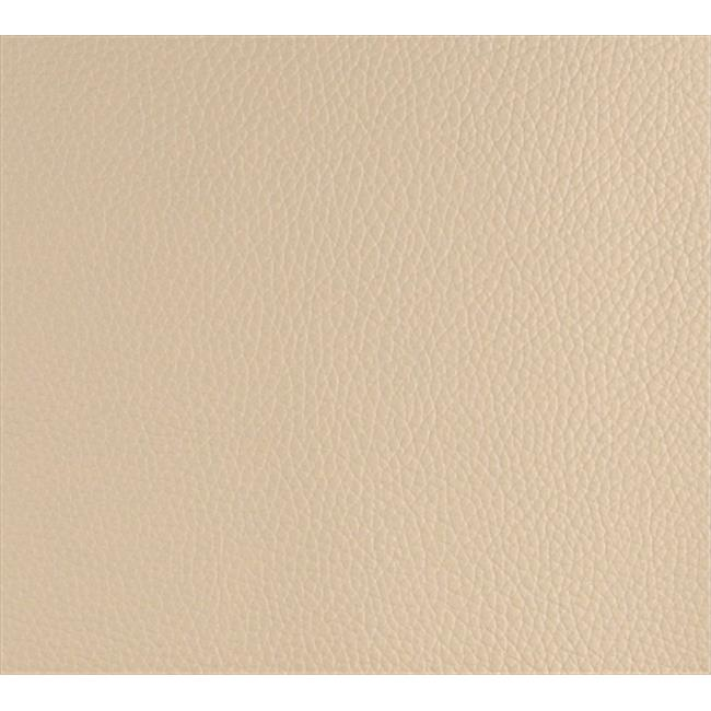 Designer Fabrics G650 54 in. Wide Beige, Bison Pronounced Leather Grain Upholstery Grade Recycled Leather