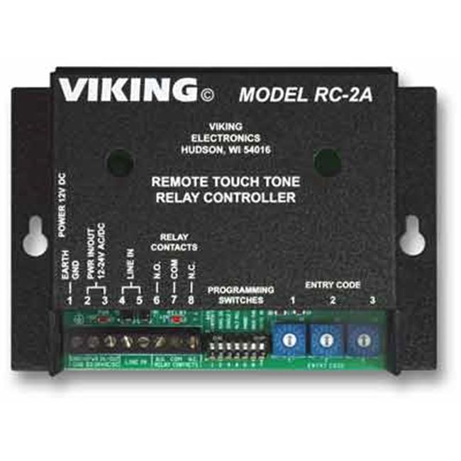 VIKING RC-2A Control Relay Contacts Remotely
